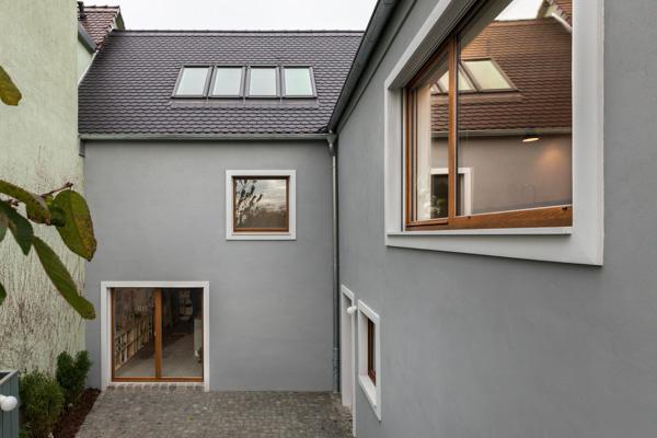 Einfamilienhaus in Telgte: Perspektive von Süden